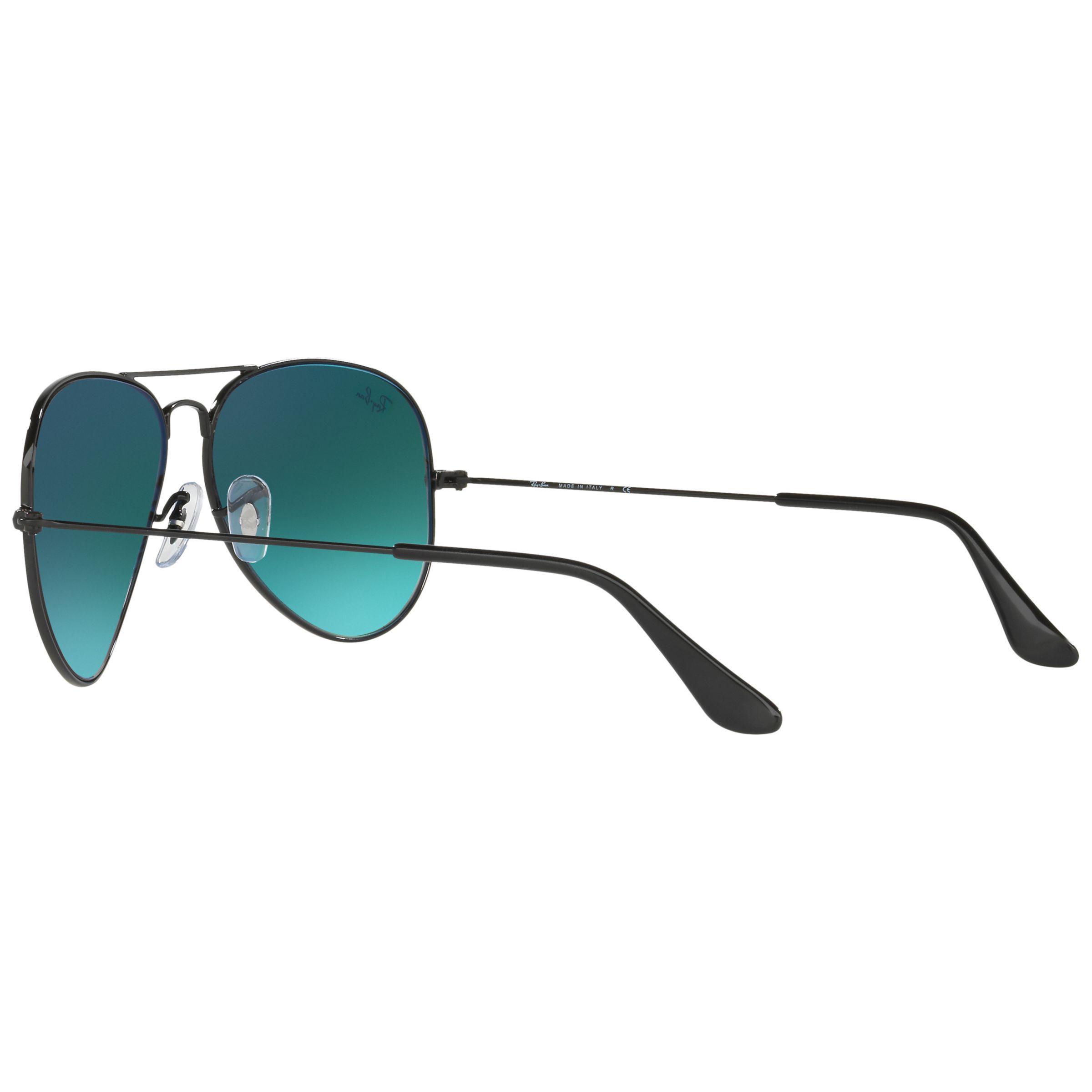 Ray-Ban Rb3025 Aviator Sunglasses in Black/Orange (Blue) for Men