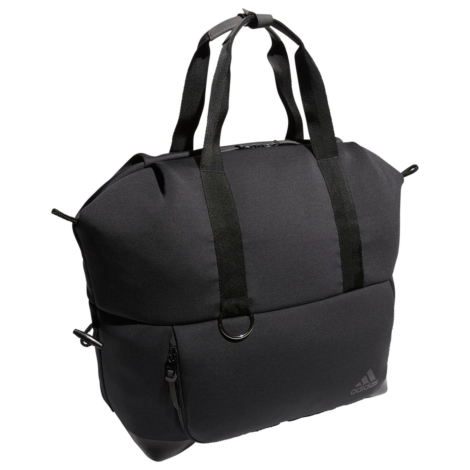 adidas Synthetic Tote Convertible Bag in Carbon Grey (Black)