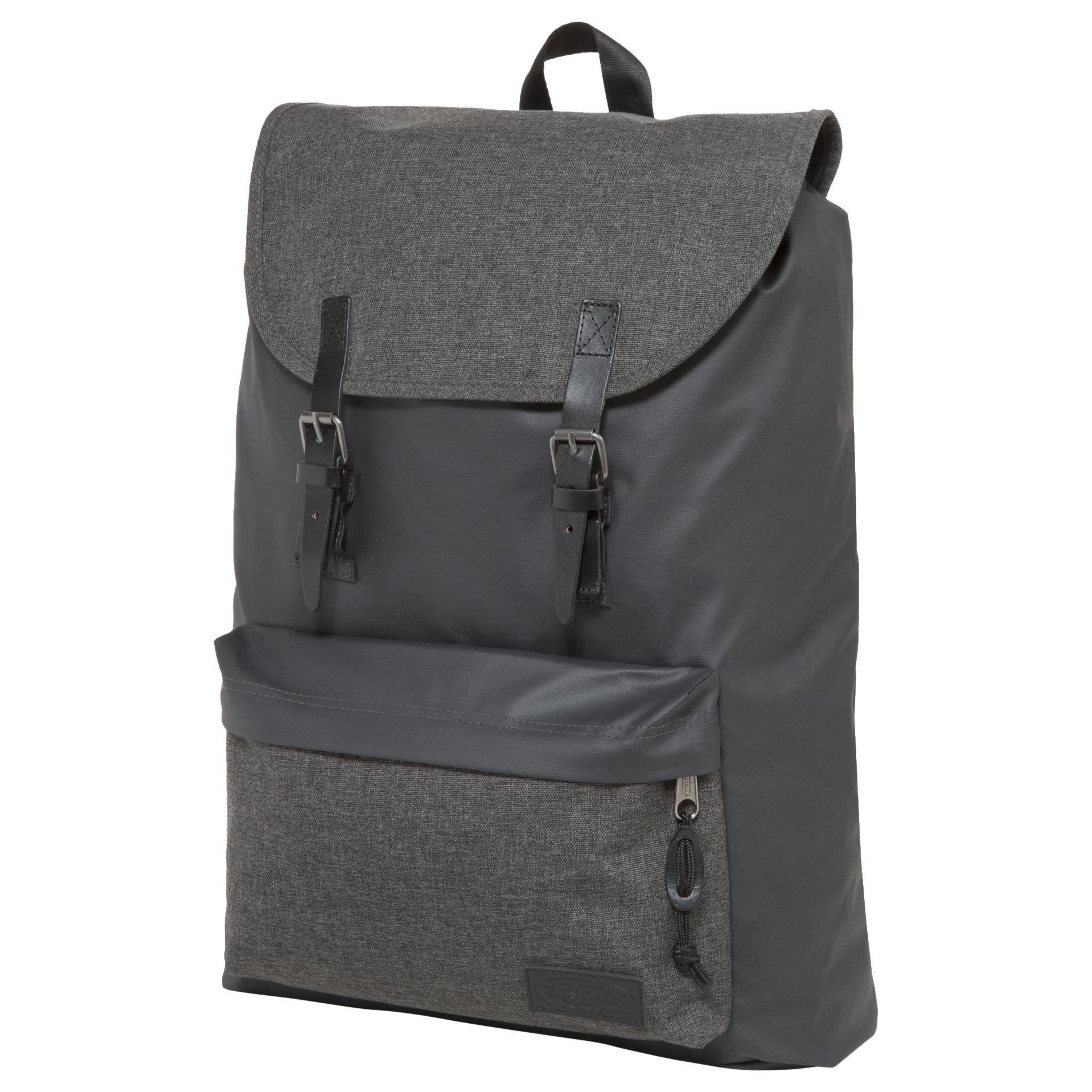 Eastpak Leather London Laptop Backpack