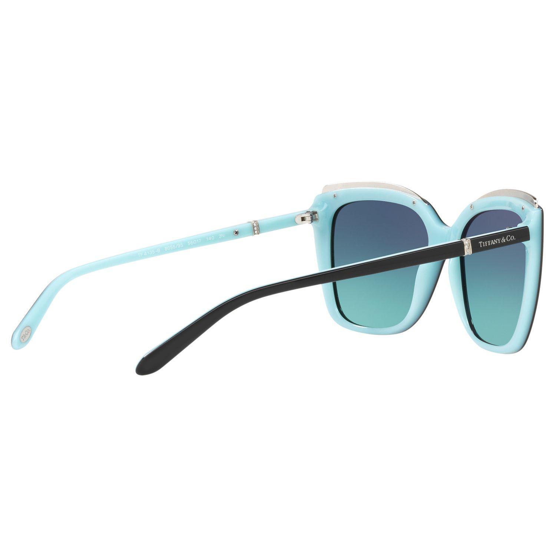Tiffany & Co. Tf4135b Oversize Square Sunglasses in Blue