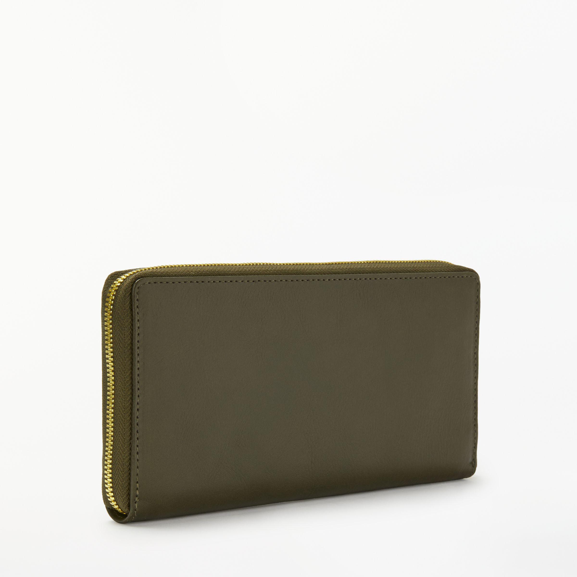 Lyst Zip Around Vida Leather Large Monedero cTqwPTXFAW