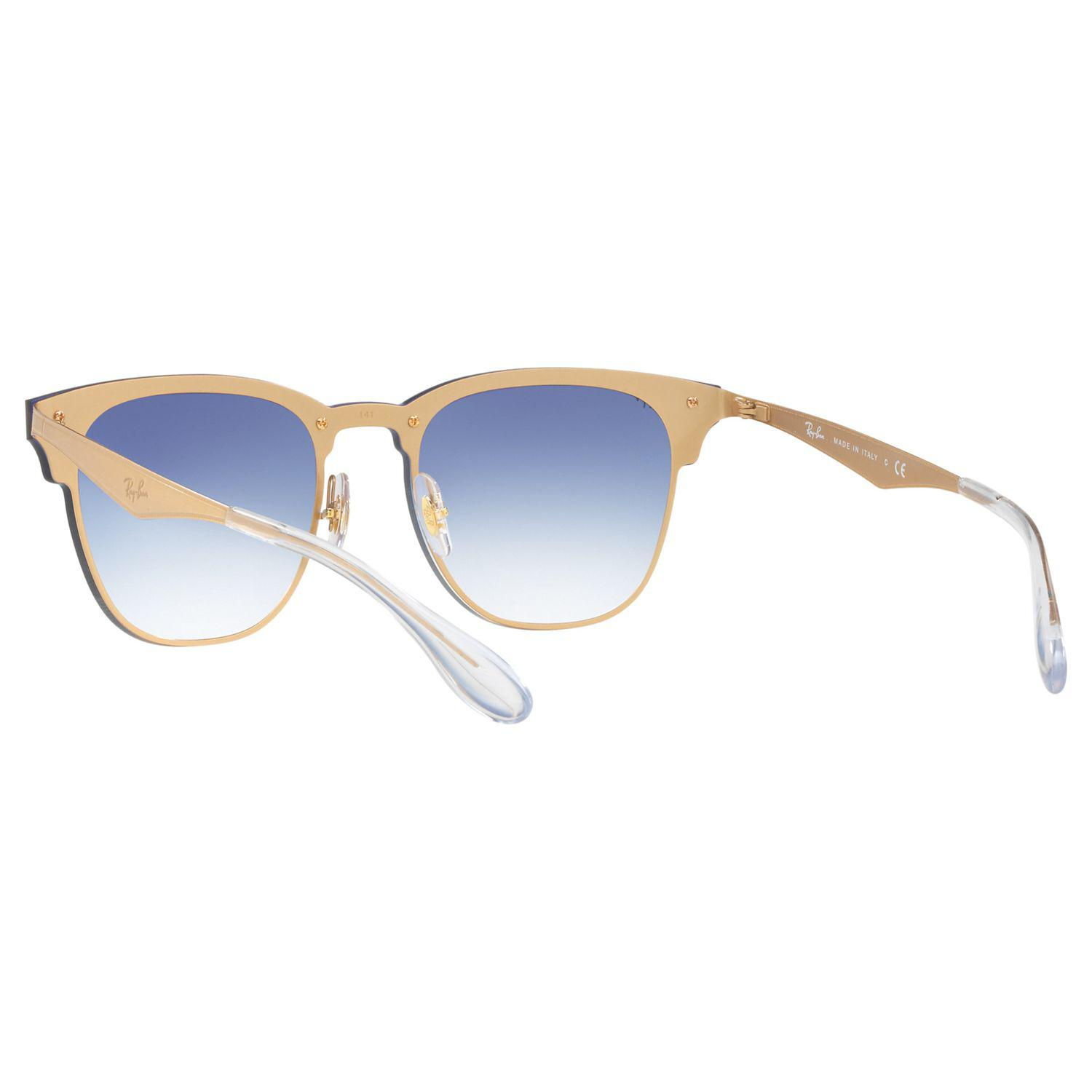 Ray-Ban Synthetic Rb3576n Blaze Clubmaster Square Sunglasses in Blue
