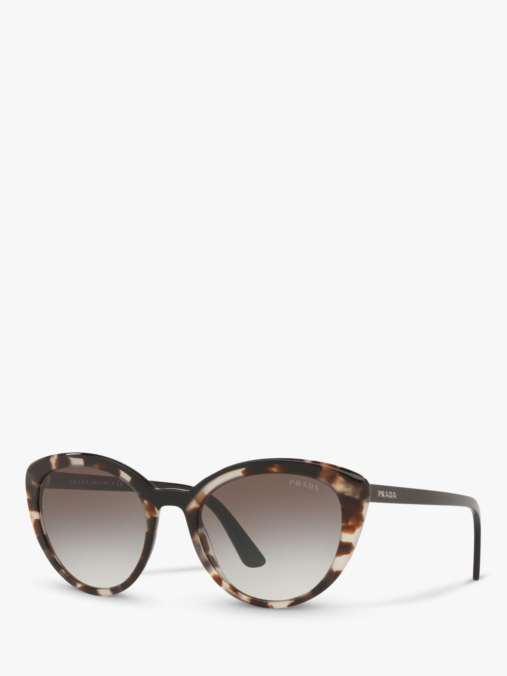 bfb7737d4d1 Prada - Brown Pr 02vs Women s Cat s Eye Sunglasses - Lyst. View fullscreen