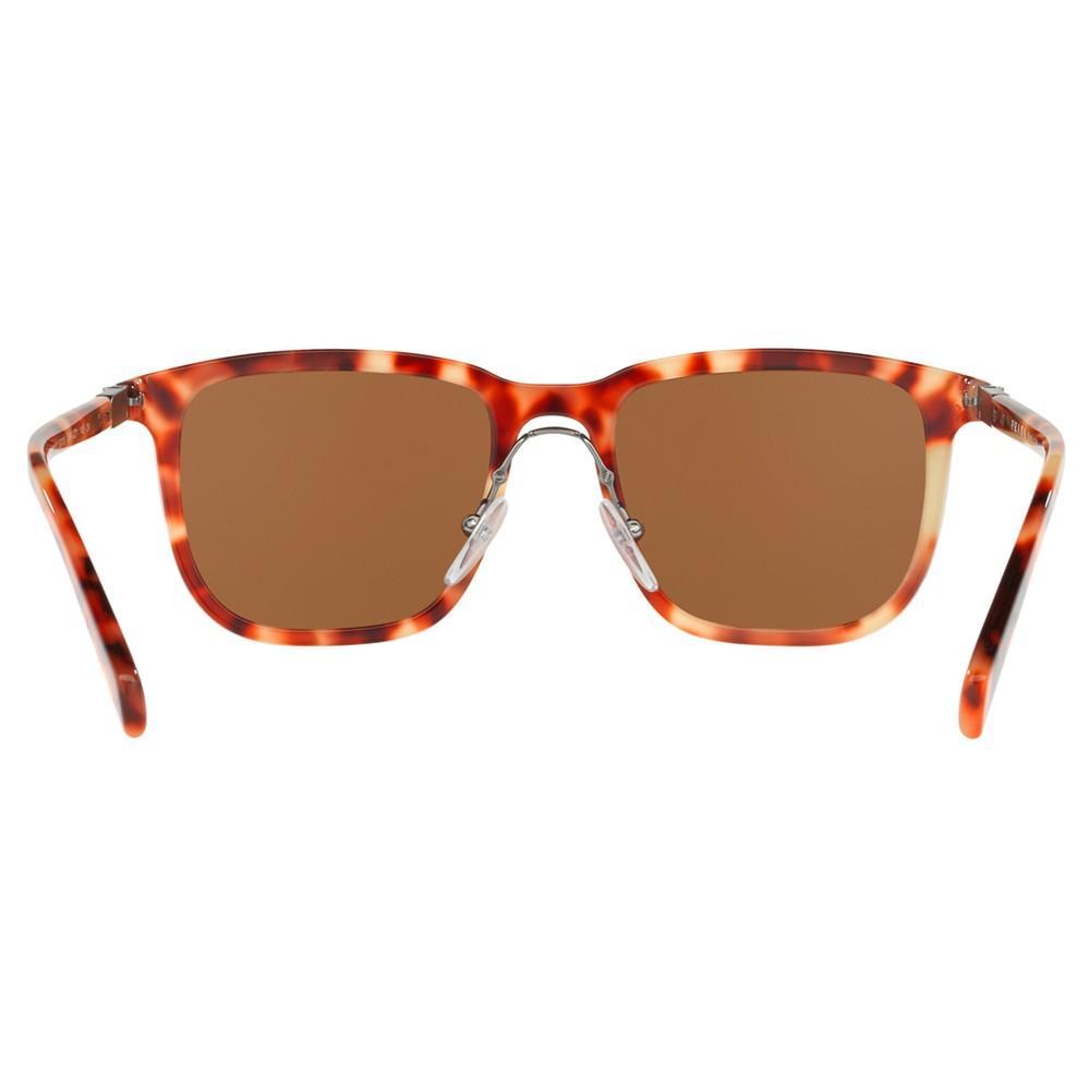 Prada Pr 02ts Square Sunglasses in Tortoise/Brown (Brown) for Men