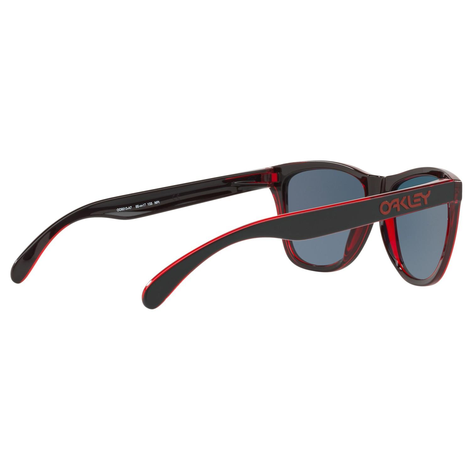 Oakley Oo9013 Frogskins Square Sunglasses in Black