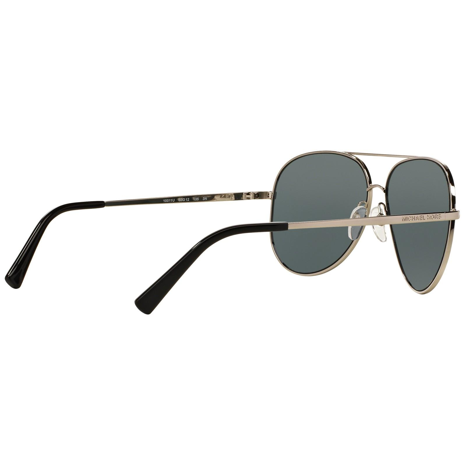 Michael Kors Mk5016 Aviator Sunglasses in Silver (Natural)