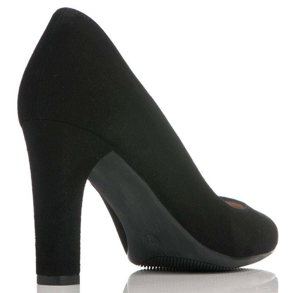 5b6928bb3fa L.K.Bennett Tess Block Heeled Court Shoes in Black - Lyst