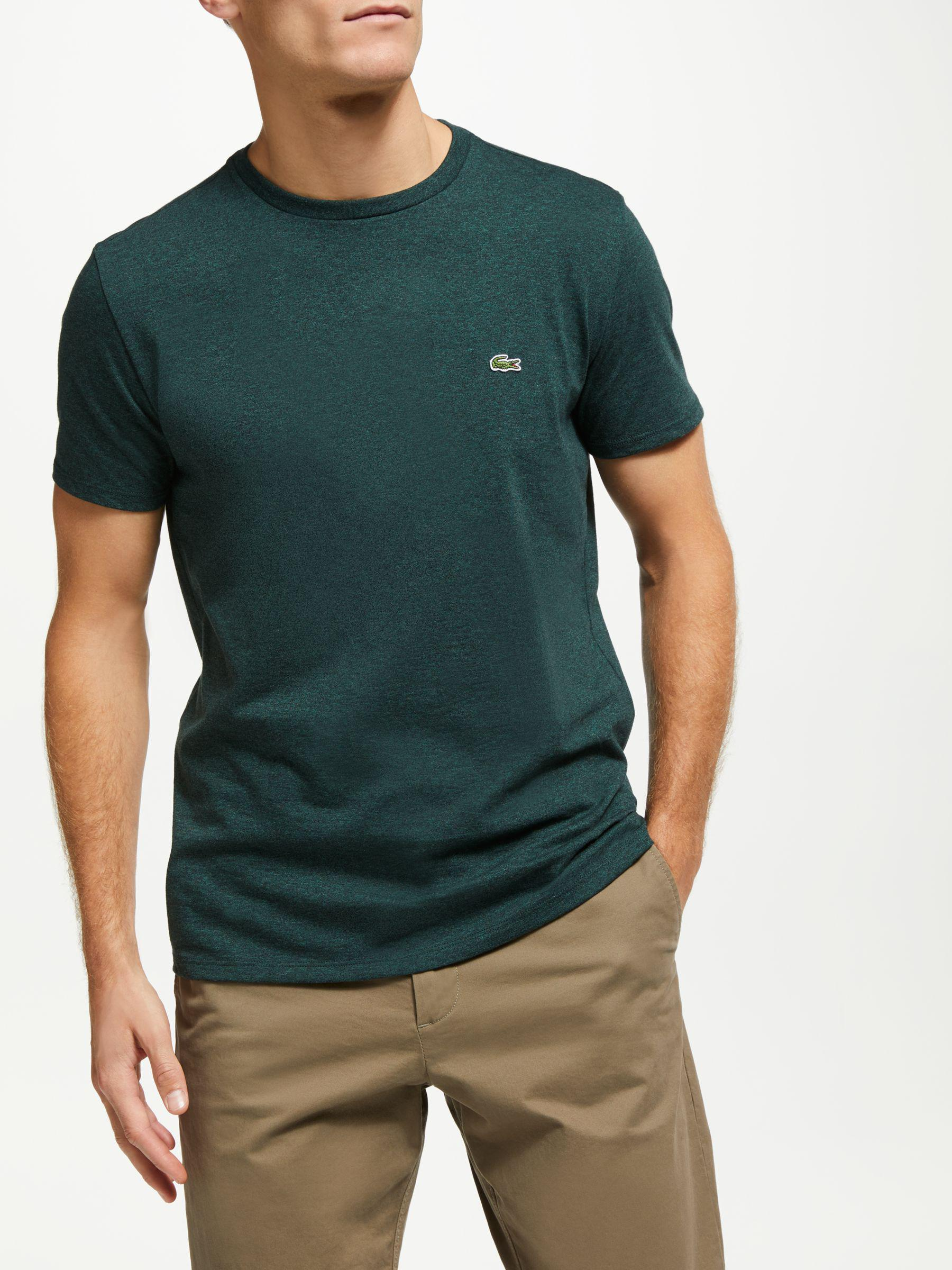 f75895c9 Lacoste Crew Neck Short Sleeve T-shirt in Green for Men - Lyst