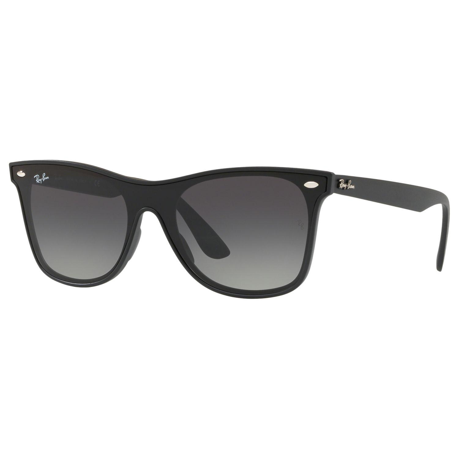 5e2dfbdb68 Ray-Ban Rb4440 Unisex Mirrored Sunglasses in Black - Lyst