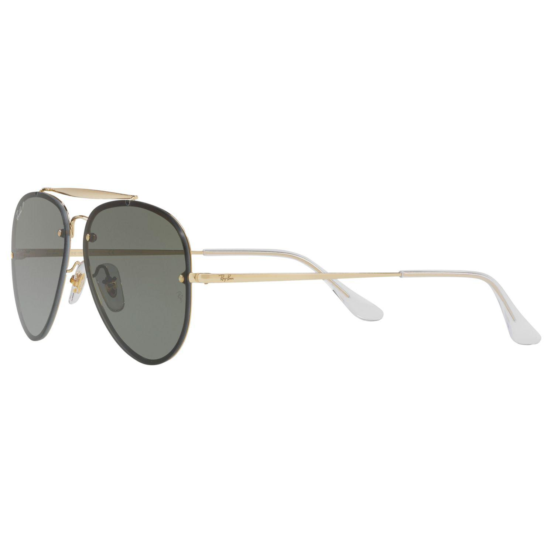 fb89bb152a726c Ray-Ban - Metallic Rb3584n Blaze Polarised Aviator Sunglasses for Men -  Lyst. View fullscreen