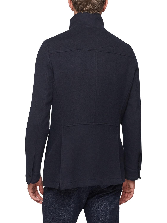 Reiss Wool Chiltern Four Pocket Jacket in Navy (Blue) for Men
