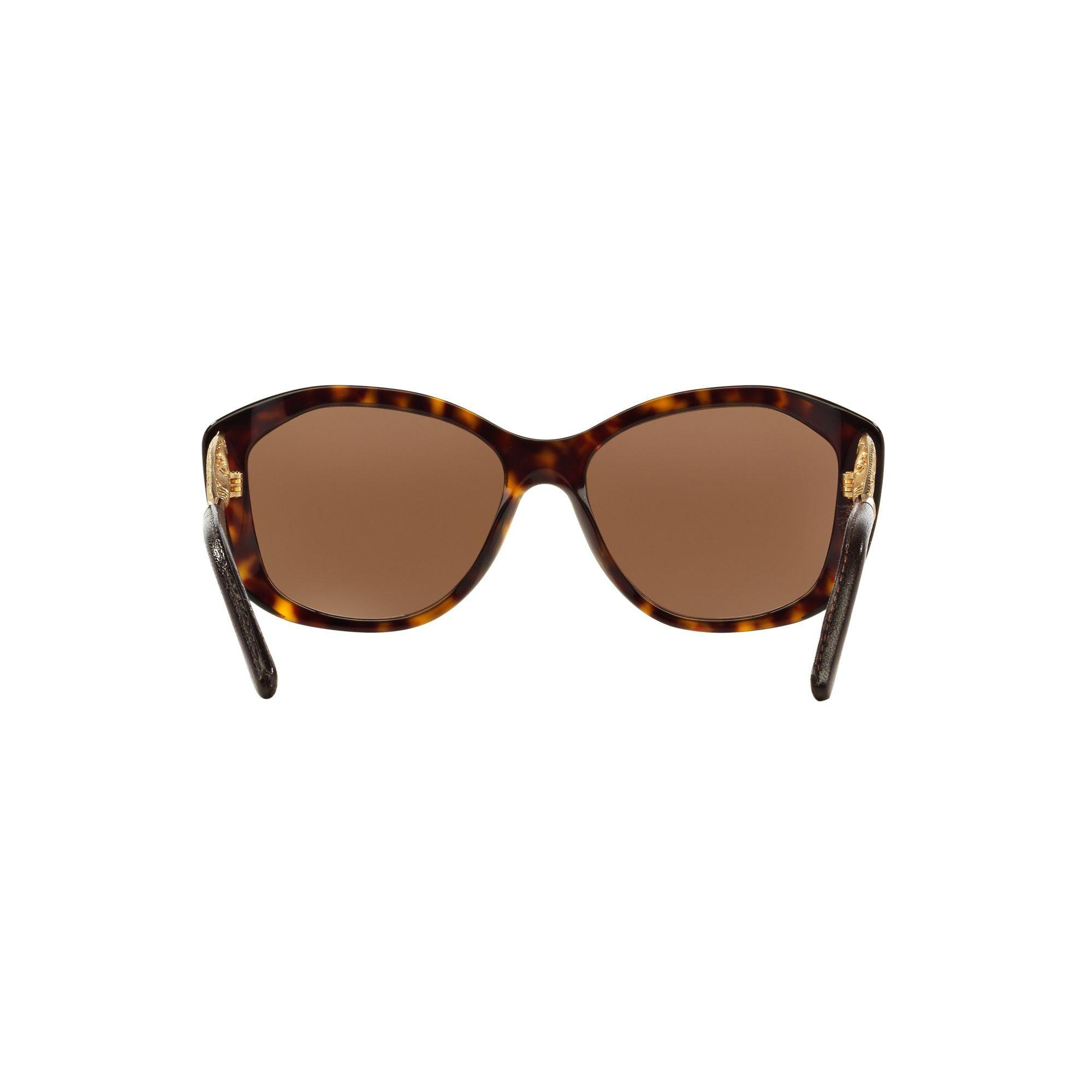 Burberry Be4208 Gradient Cat's Eye Sunglasses