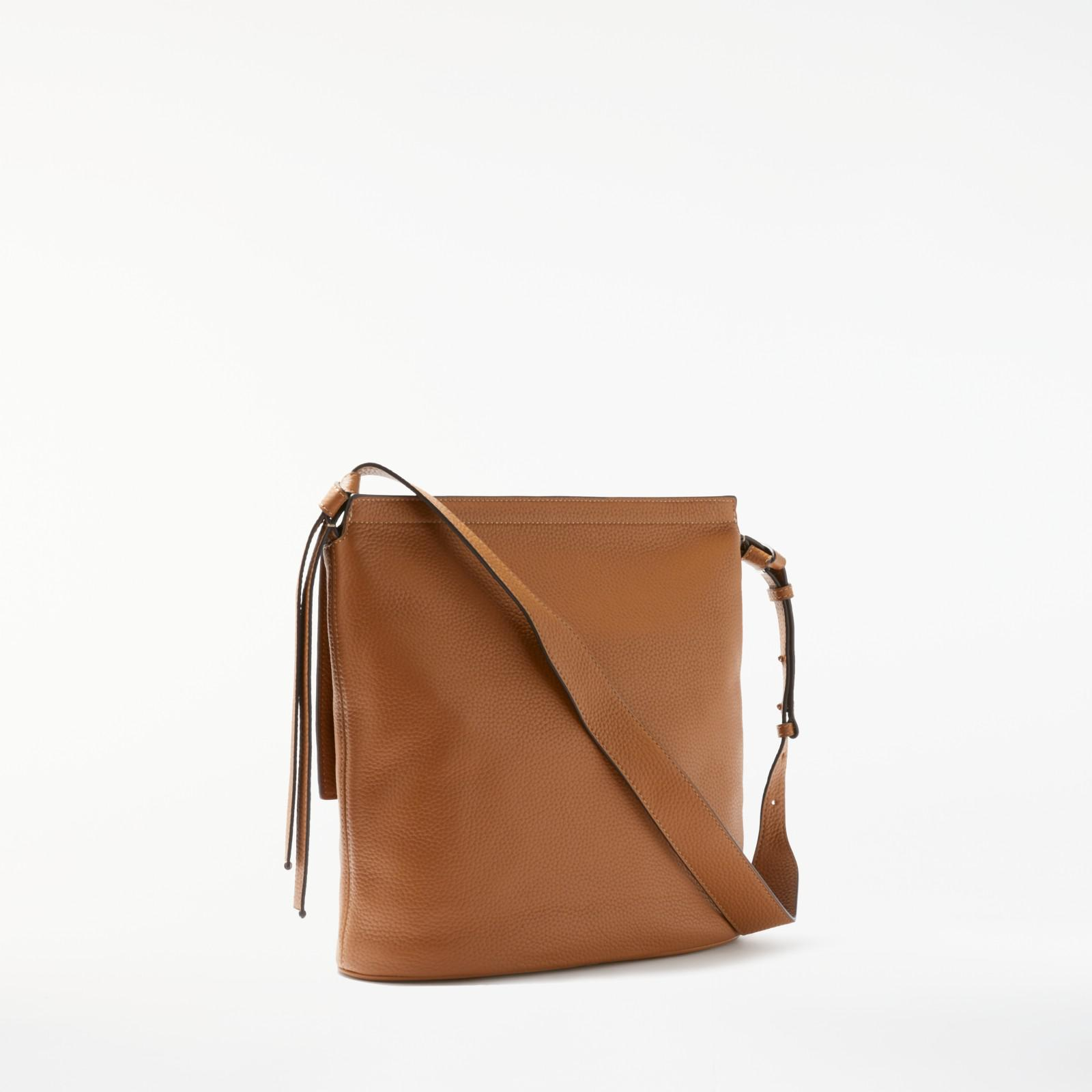 b9963d94dc9a MICHAEL Michael Kors - Brown Chambers Large Leather Flap Over Shoulder Bag  - Lyst