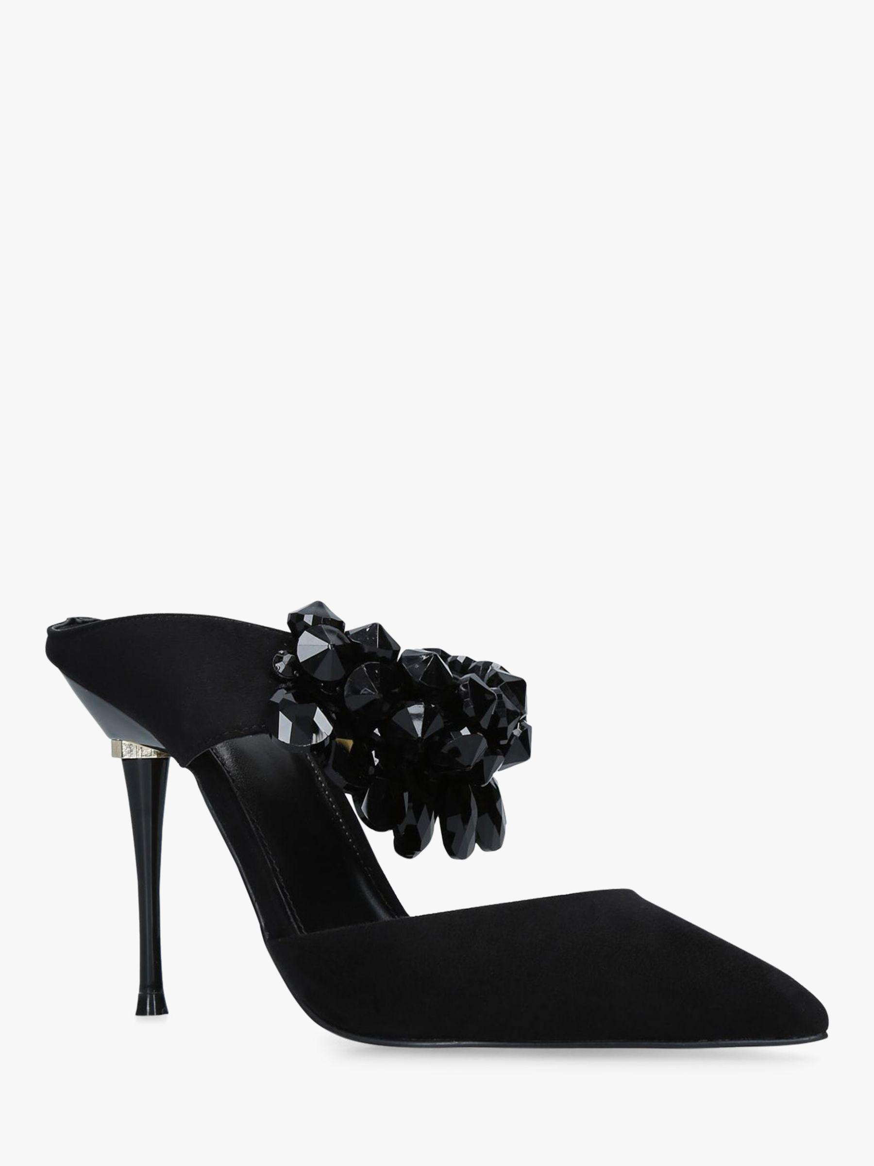 8eb685e3008e Carvela Kurt Geiger Gallileo Stiletto Heel Mule Court Shoes in Black ...