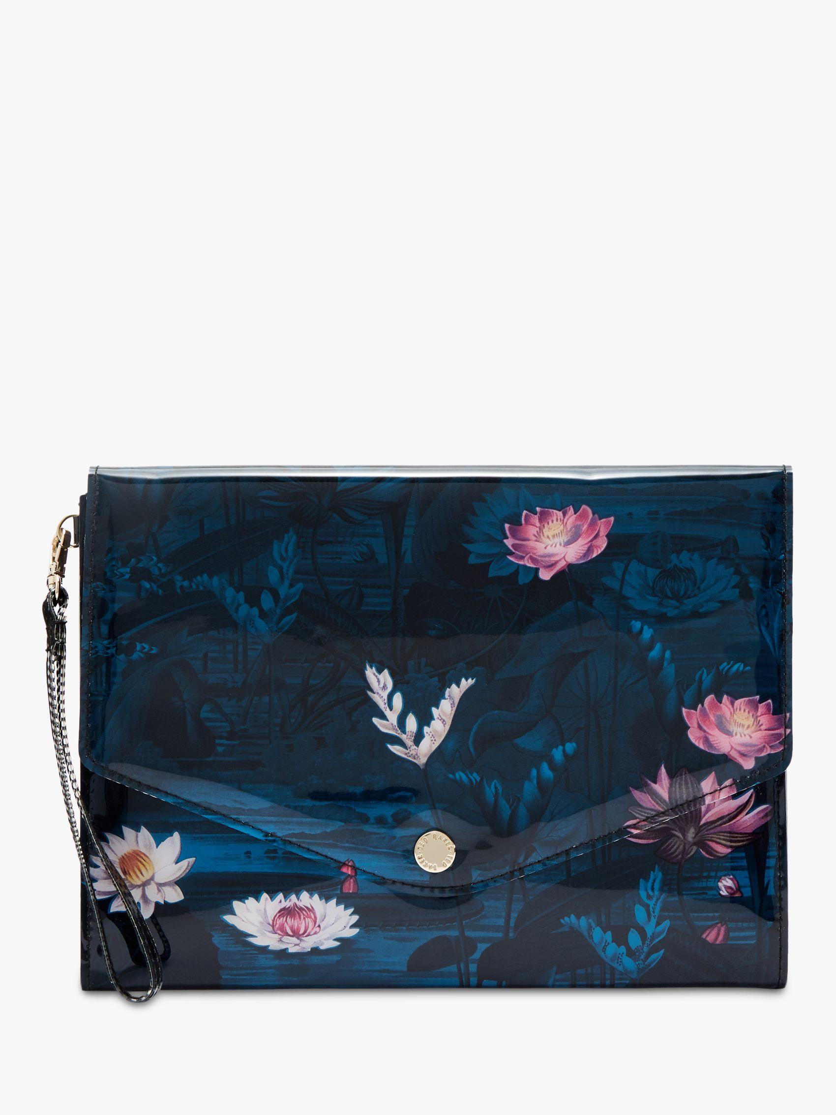 da16fc895276 Ted Baker Elzina Wonderland Pouch Clutch Bag in Blue - Lyst