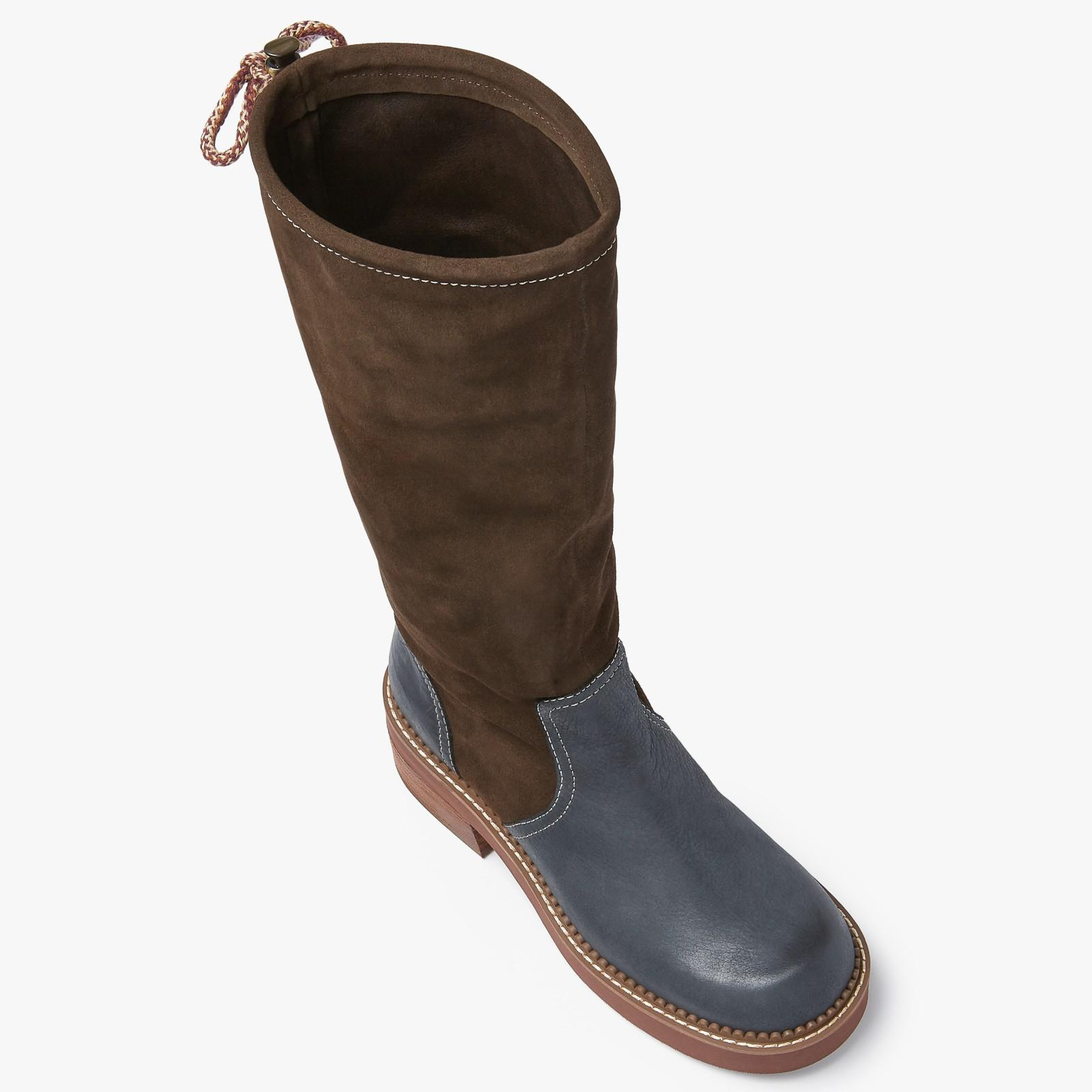 94e2b2b654 See By Chloé Brown Dominika Country Calf Boots