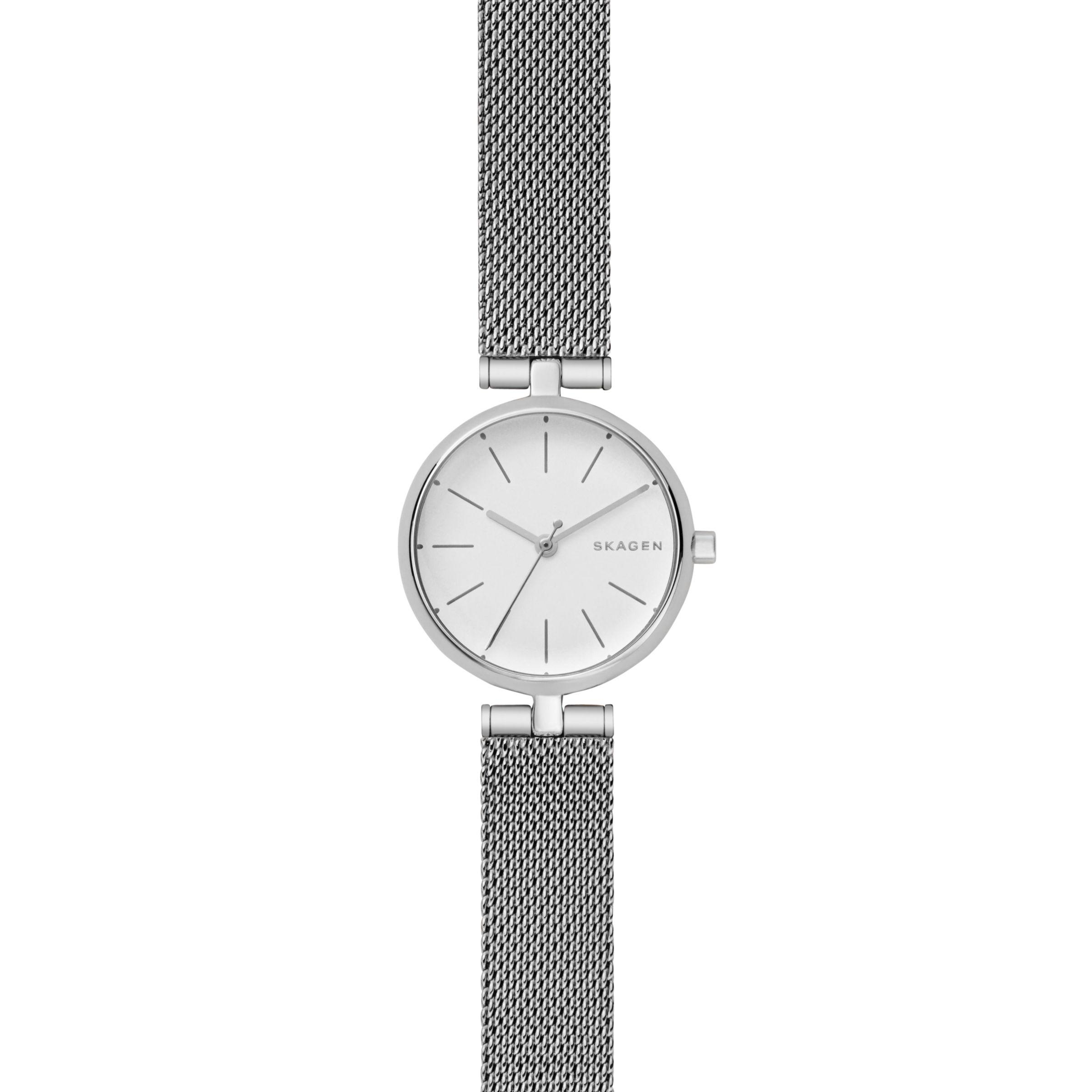 0050789bfa8 Skagen Signatur Women s Bracelet Watch in Metallic - Lyst
