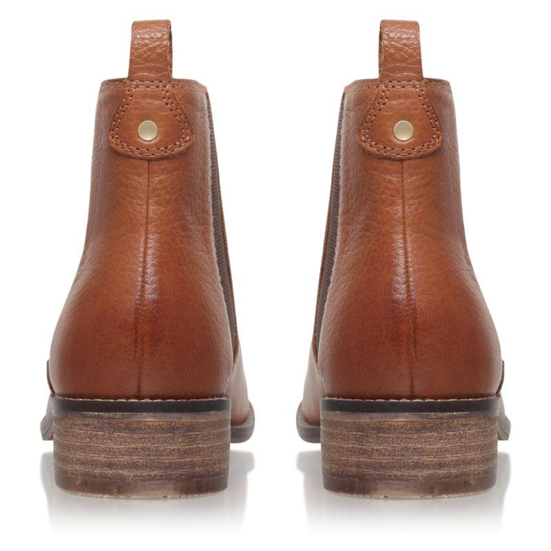 storm' Flat Chelsea Boots in Tan (Brown