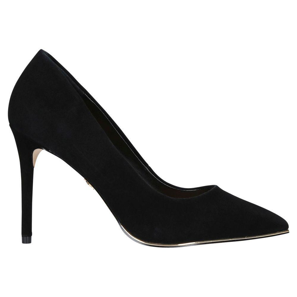 d9e2a5afbc Kurt Geiger Audley High Heel Court Shoes in Black - Save 30% - Lyst