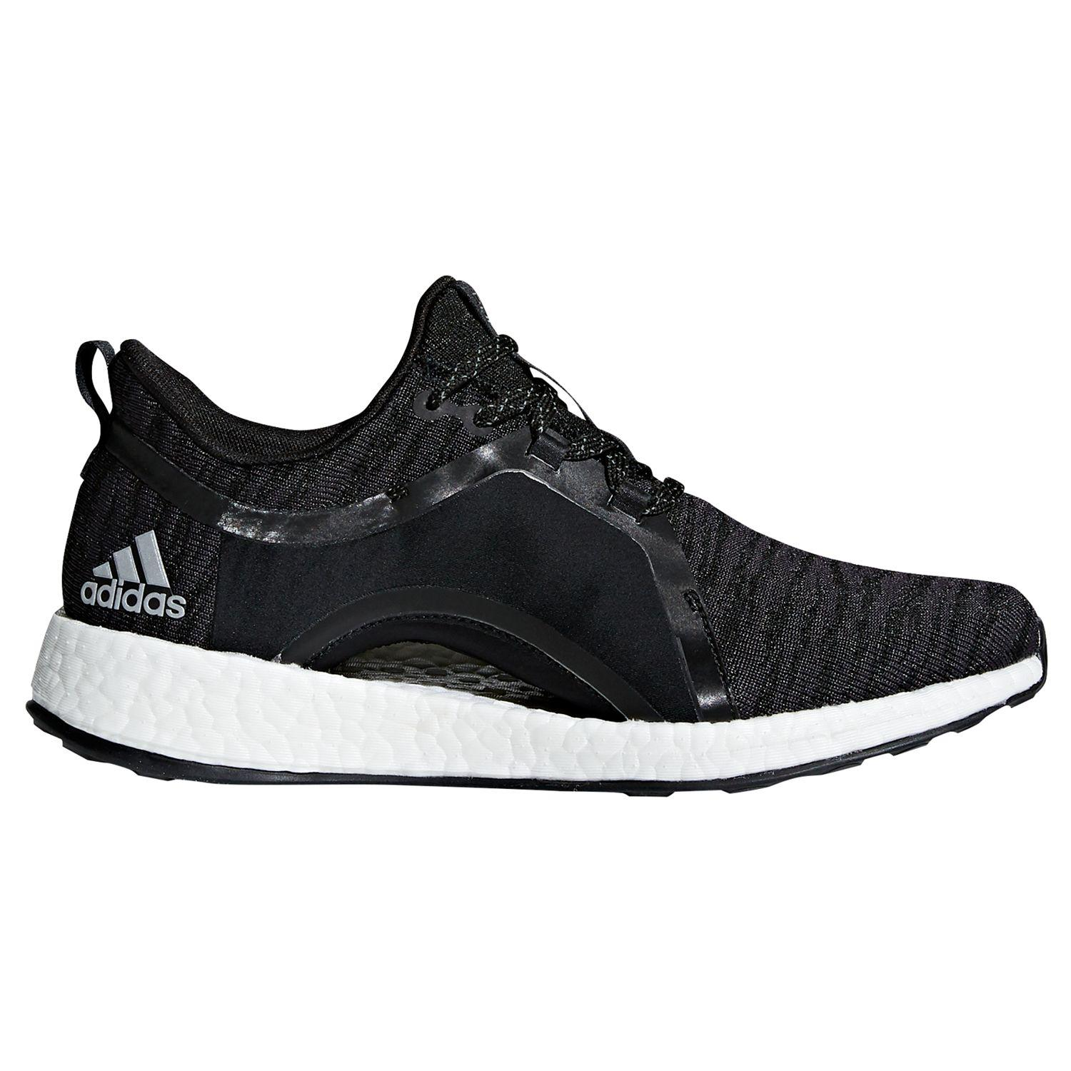 d1643293ce38b7 adidas Pure Boost X Women s Running Shoes in Black - Lyst