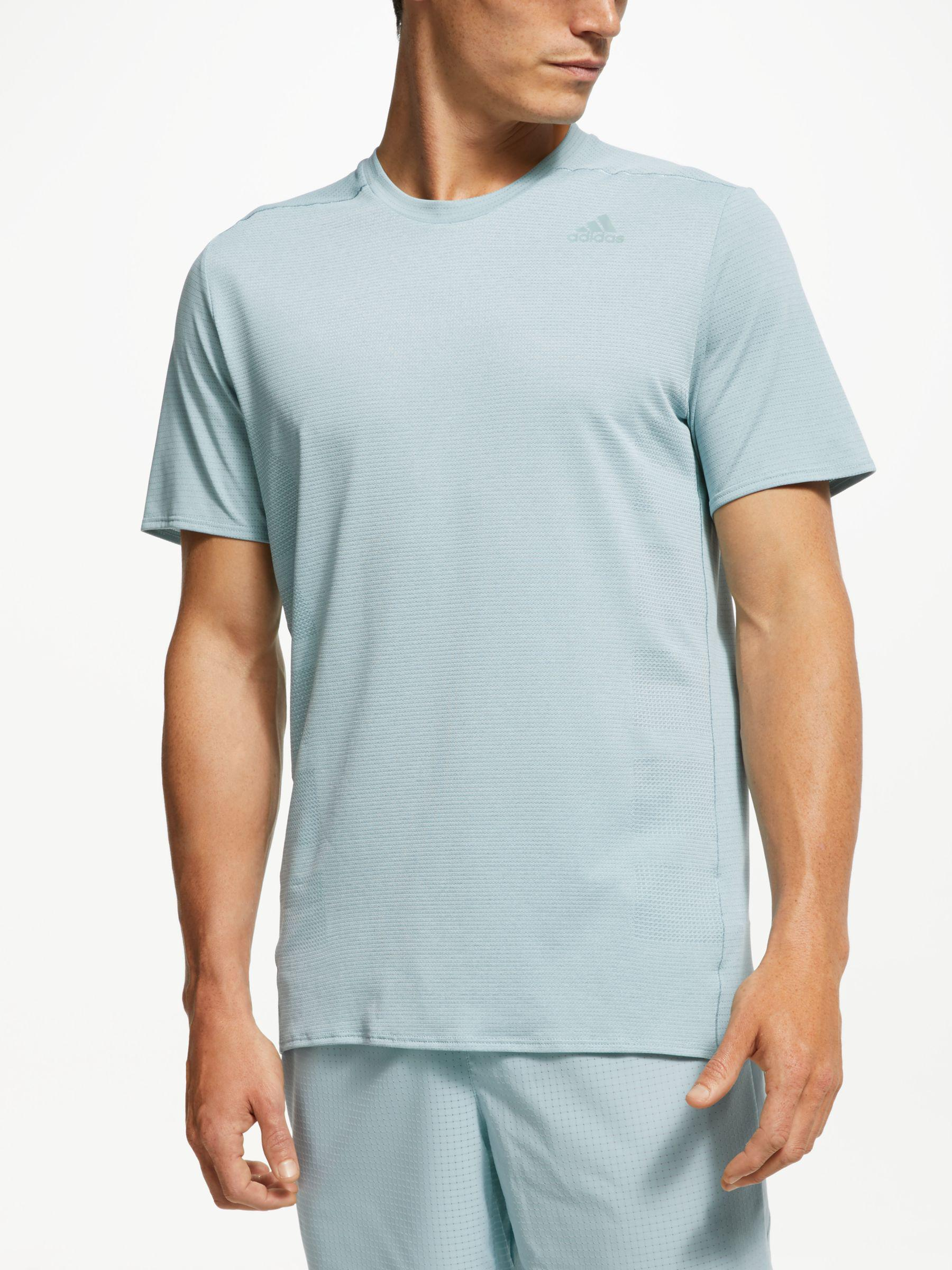b3f557f1a Adidas Supernova Running T-shirt in Blue for Men - Lyst