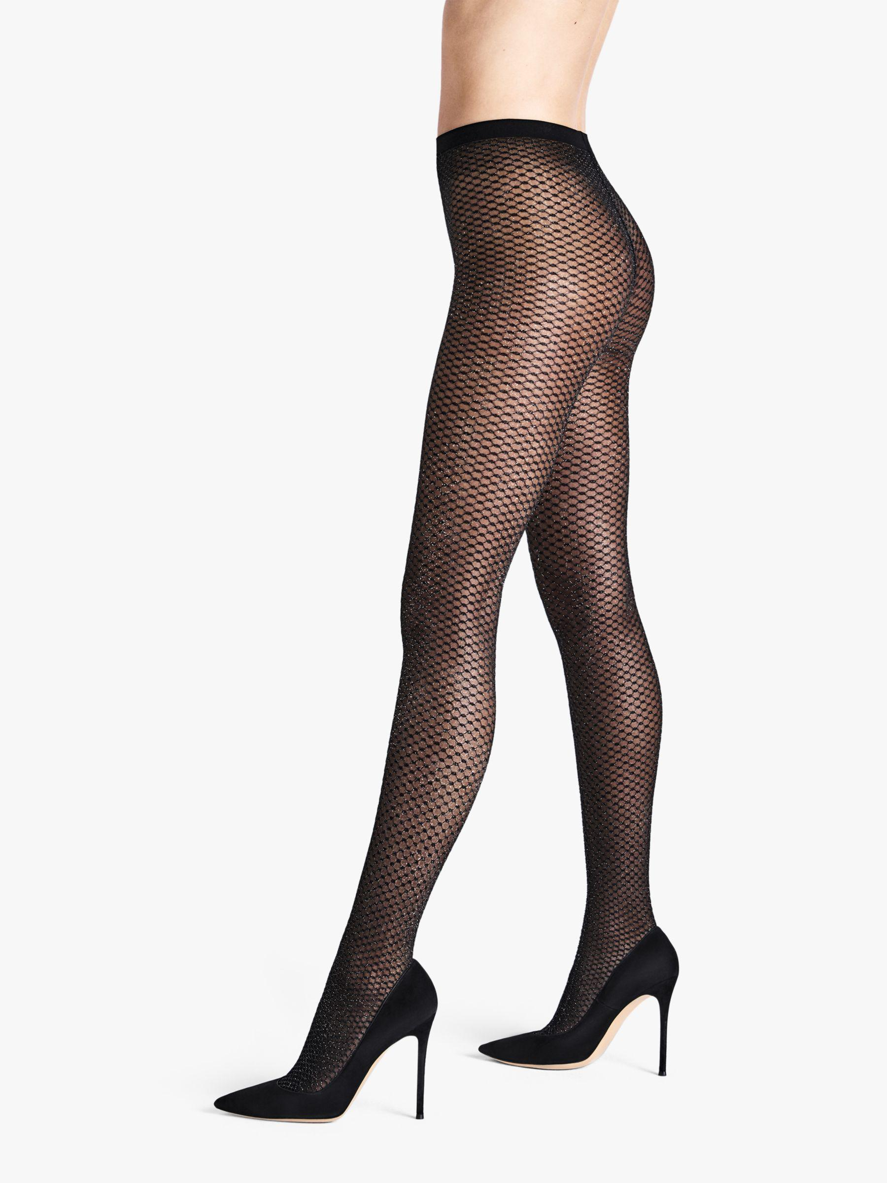 Wolford 20 Denier Night Sparkle Sheer Tights in Black - Lyst 57c1e0742