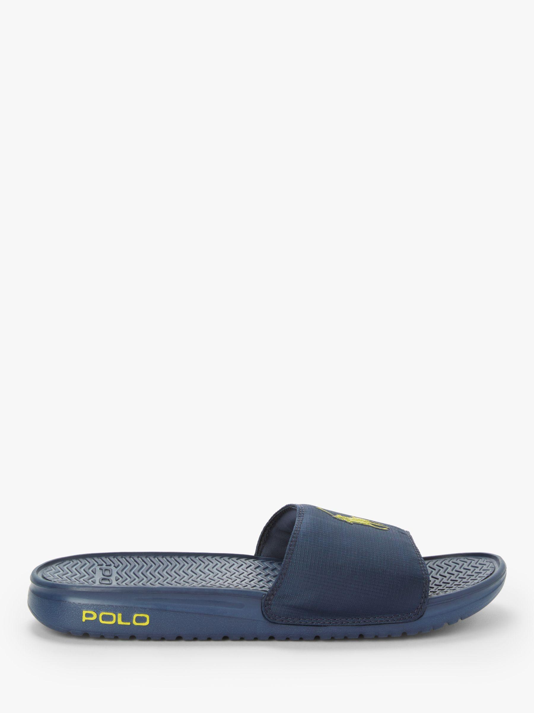 e33bc55a0e49 Ralph Lauren Polo Pool Sliders in Blue for Men - Lyst