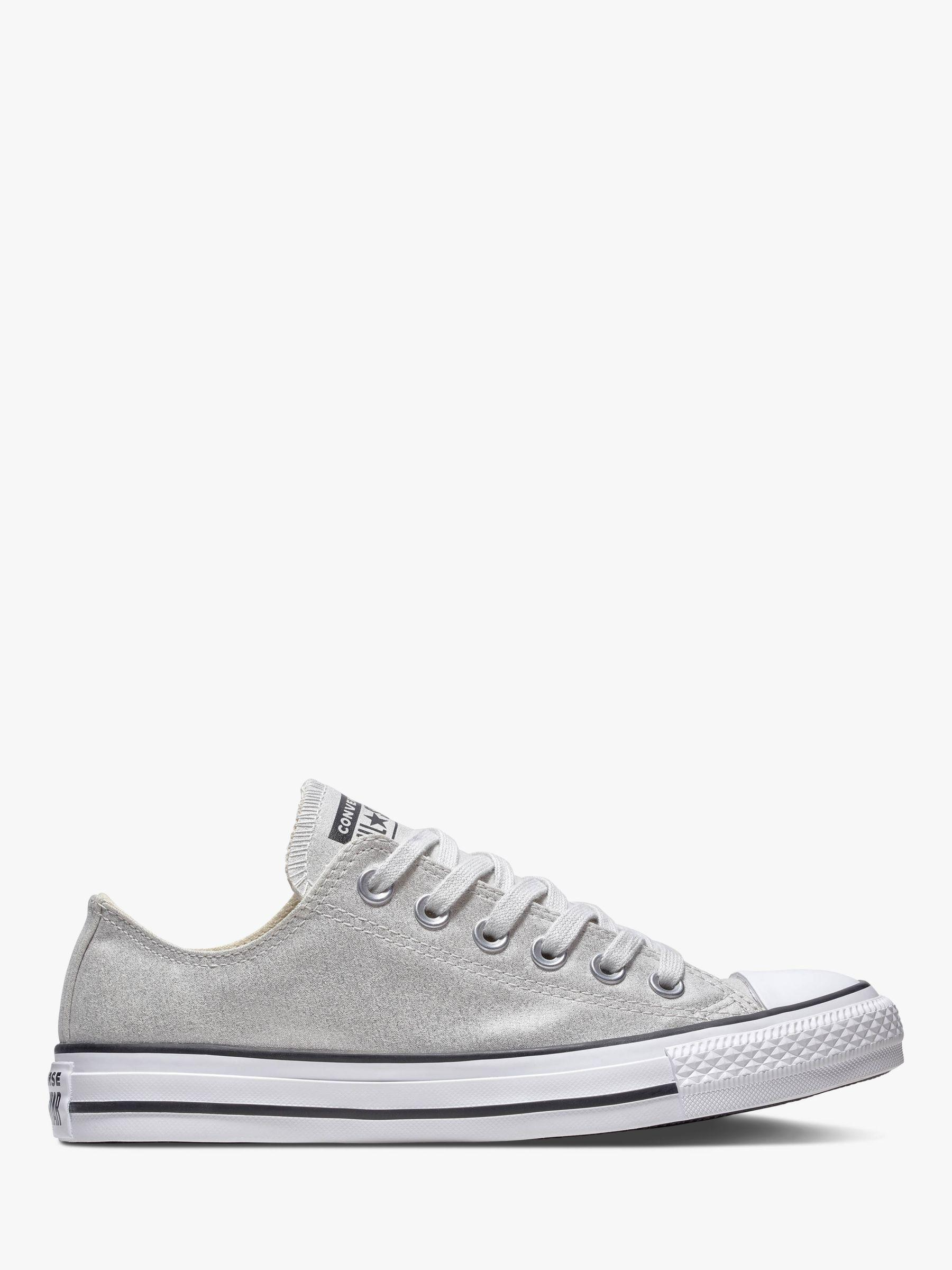 707e1c94397389 Converse. Women s White Chuck Taylor All Star Canvas Ox Low-top Trainers