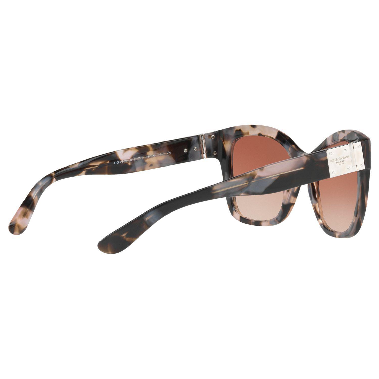 Dolce & Gabbana Dg4309 Square Sunglasses in Tortoise (Brown)