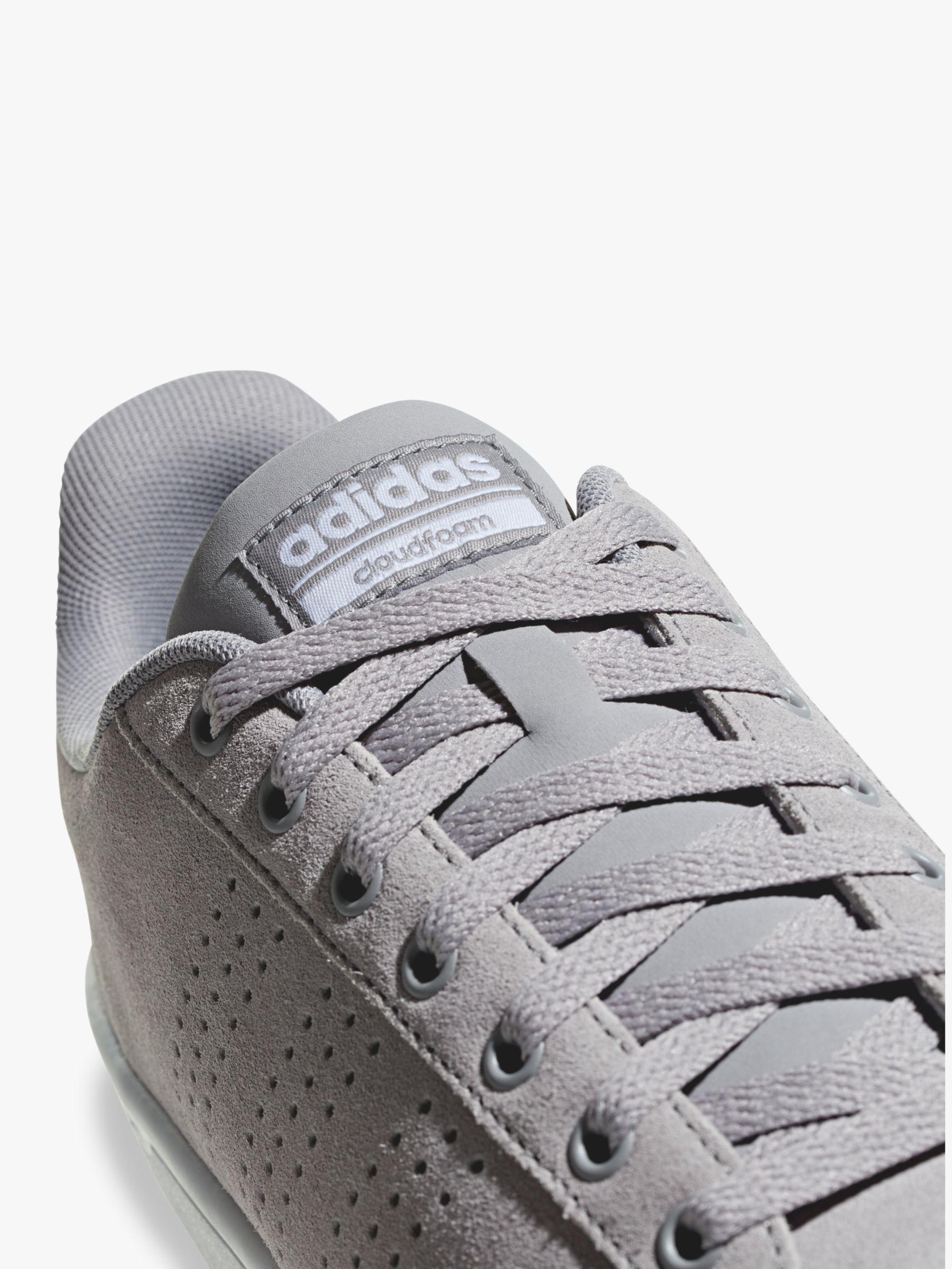 Adidas Gray Cloudfoam Advantage Men's Trainers for men