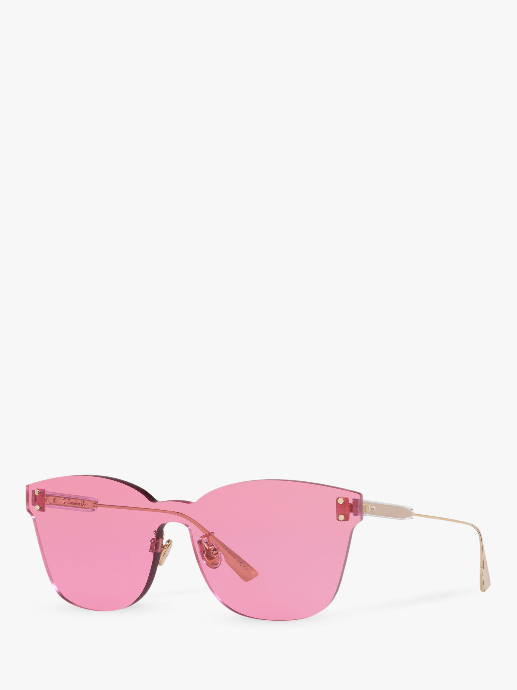 ced3b9df9a08 Dior. Pink Colourquake2 Women's Square Sunglasses. £280 From John Lewis and  Partners