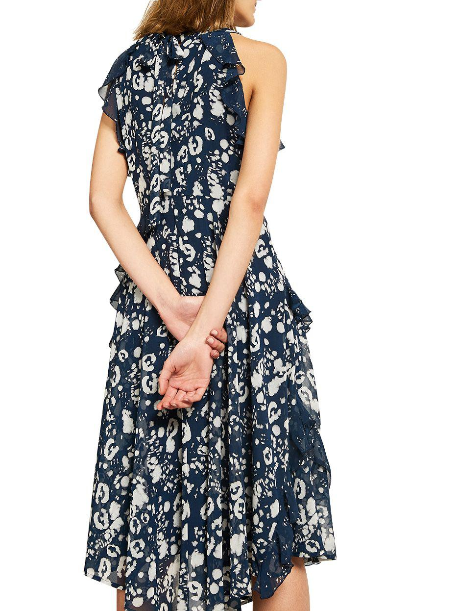 cheap for sale 2018 shoes good Mint Velvet Louise Printed Ruffle Dress