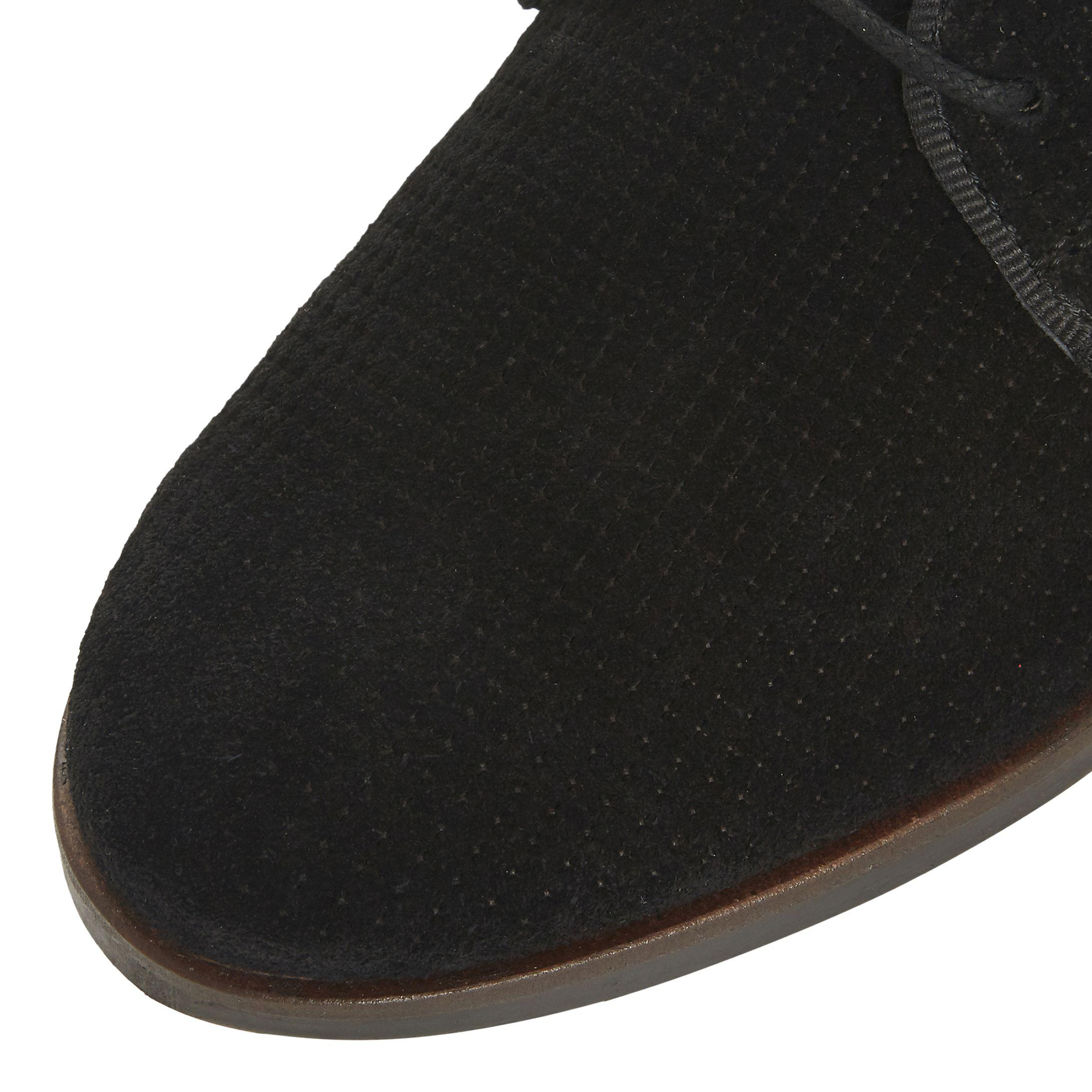 Dune Suede Fexton Lace-up Brogues in Black for Men