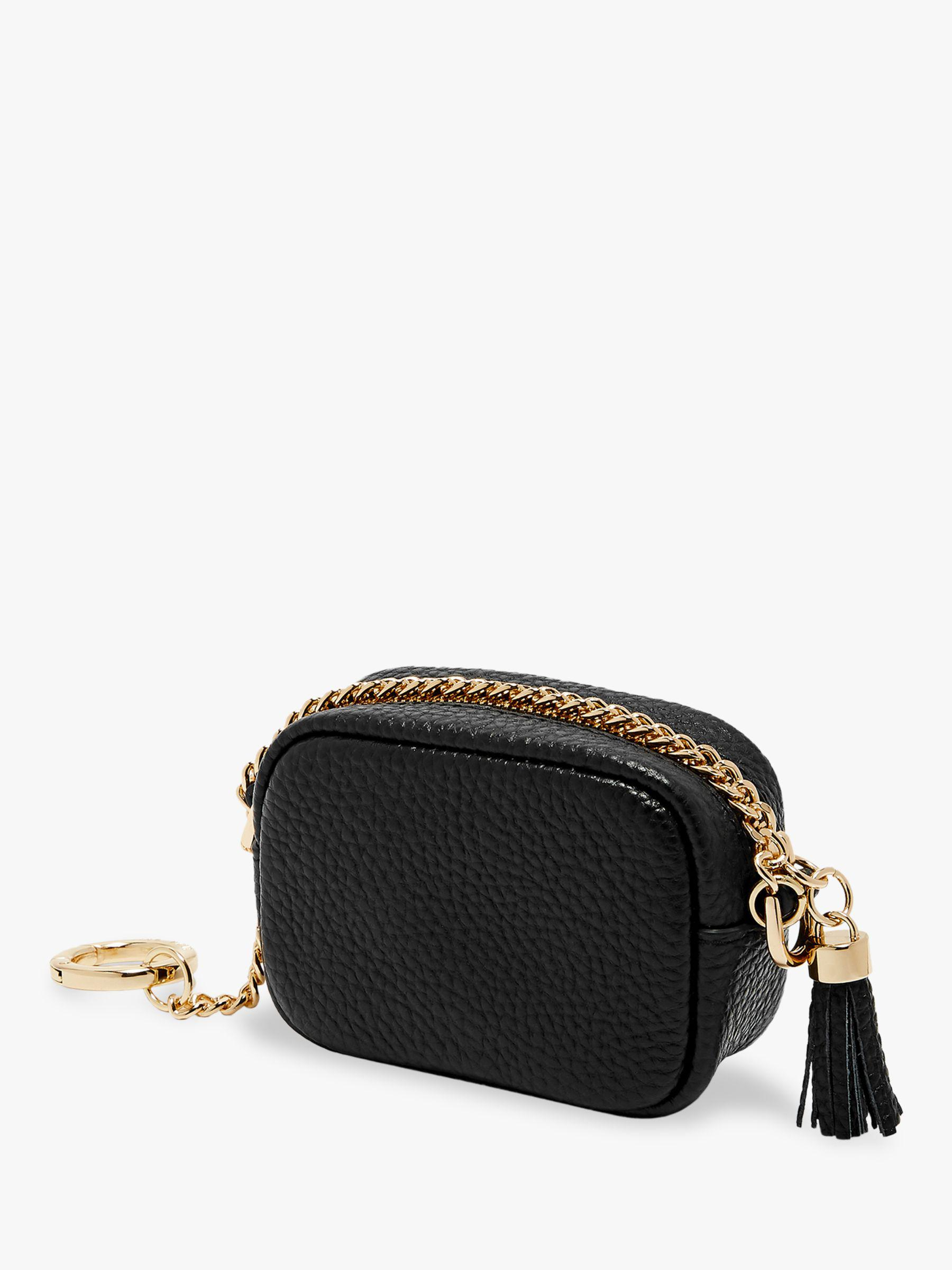 e3d70d700a Ted Baker Leather Bag Charm in Black - Lyst