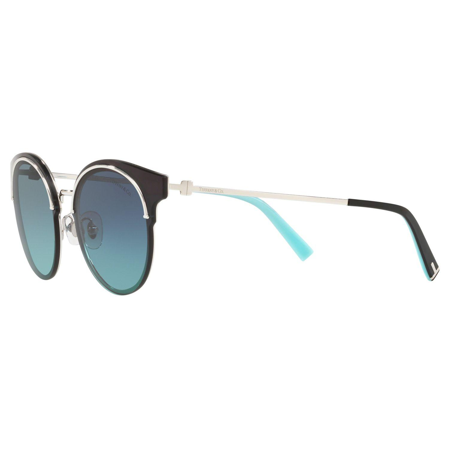 5c075395fe Tiffany   Co - Blue Tf3049b Women s Round Sunglasses - Lyst. View fullscreen