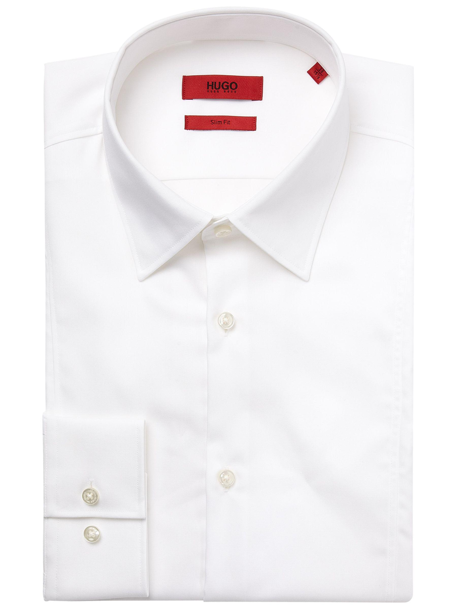 8cfd6471 BOSS Hugo By C-phillo Slim Fit Shirt in White for Men - Lyst