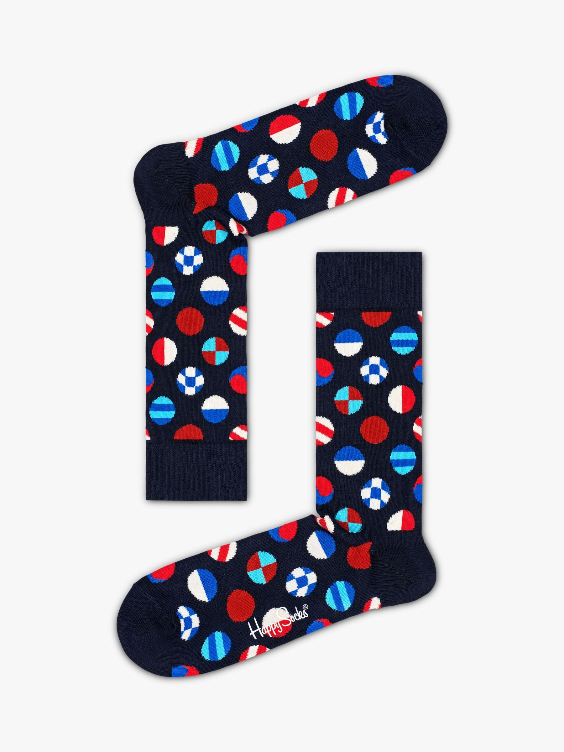 Red Herring Men Pack Of 4 Multi-Coloured Union Jack Flag Ankle Socks
