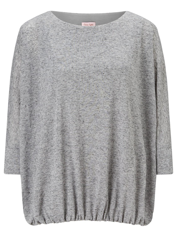Phase Eight Denim Briony Blouson Top in Grey (Grey)