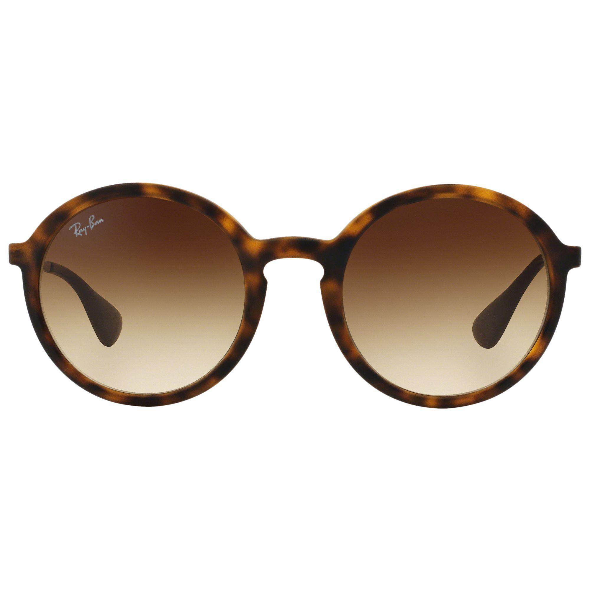Ray-Ban Rb4222 Oval Sunglasses in Brown