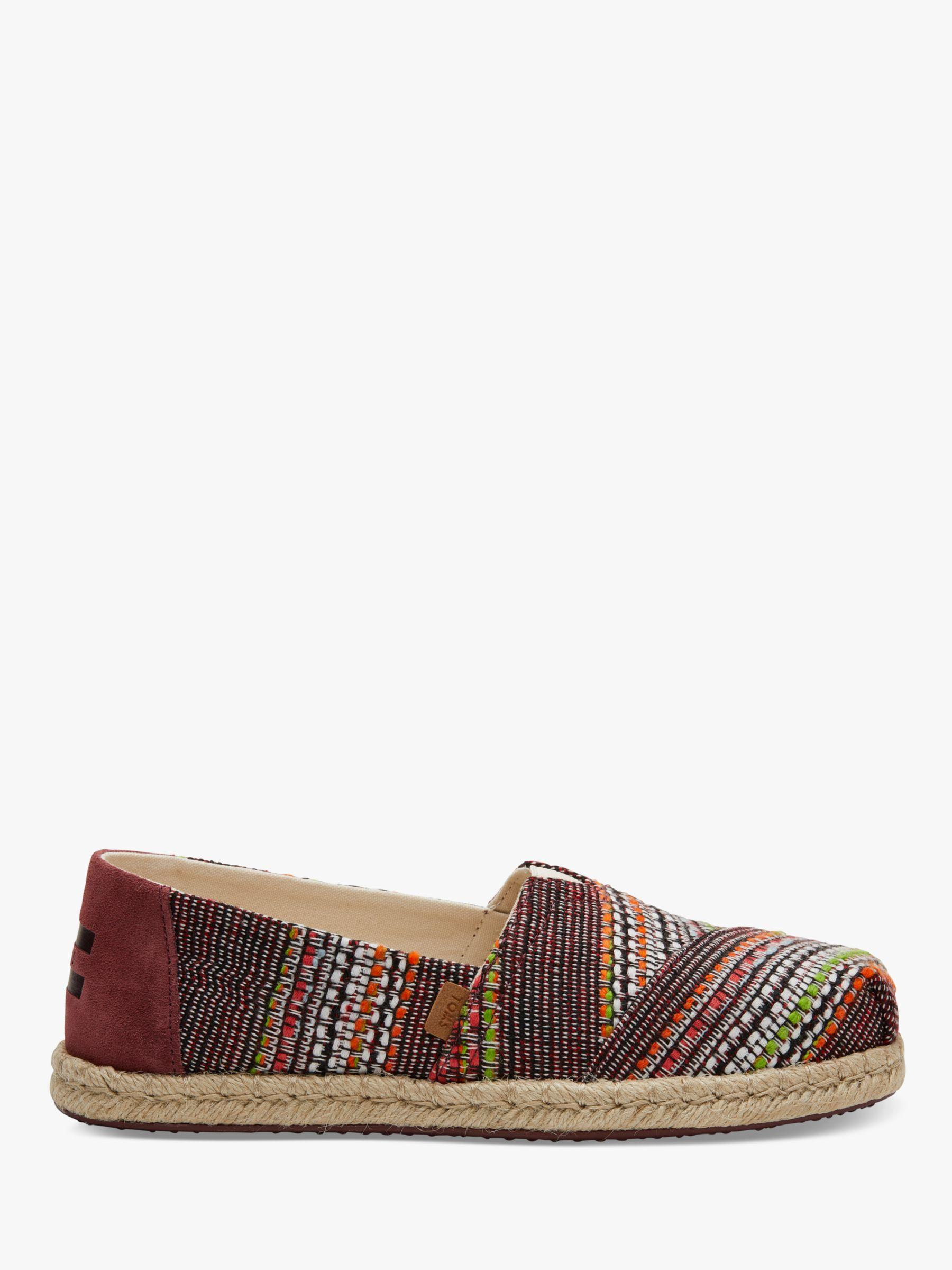 02ed059af34 TOMS. Women s Brown Alpargata Embroidered Espadrilles. £35 From John Lewis  and Partners