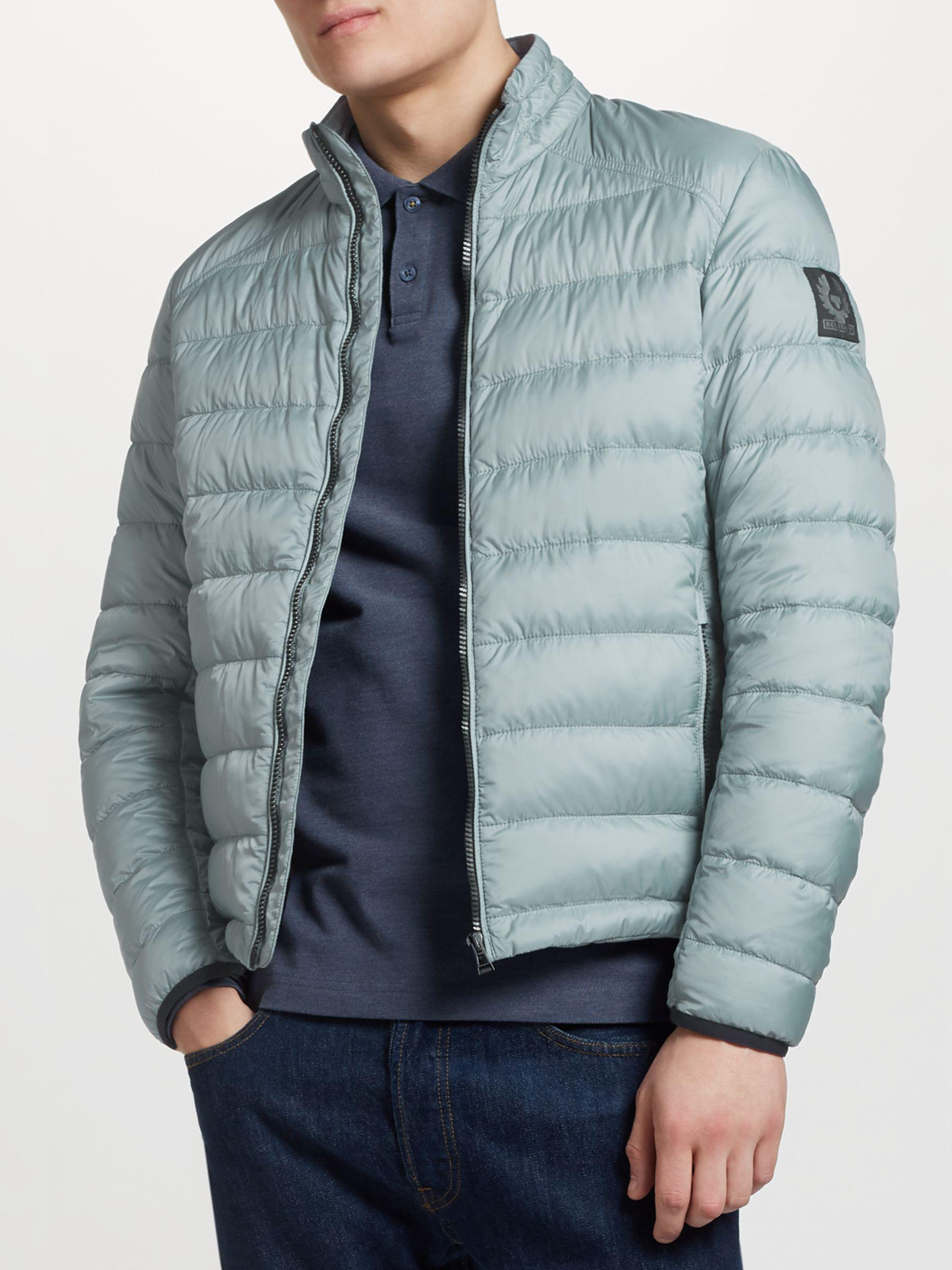 438ca4ecec31 Belstaff Ryegate Quilted Down Jacket in Blue for Men - Lyst