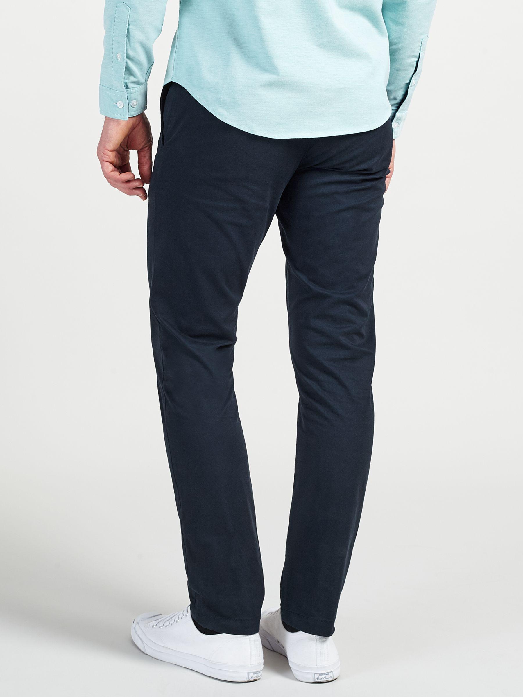 Original Penguin Cotton Slim Stretch Chinos in Navy (Blue) for Men