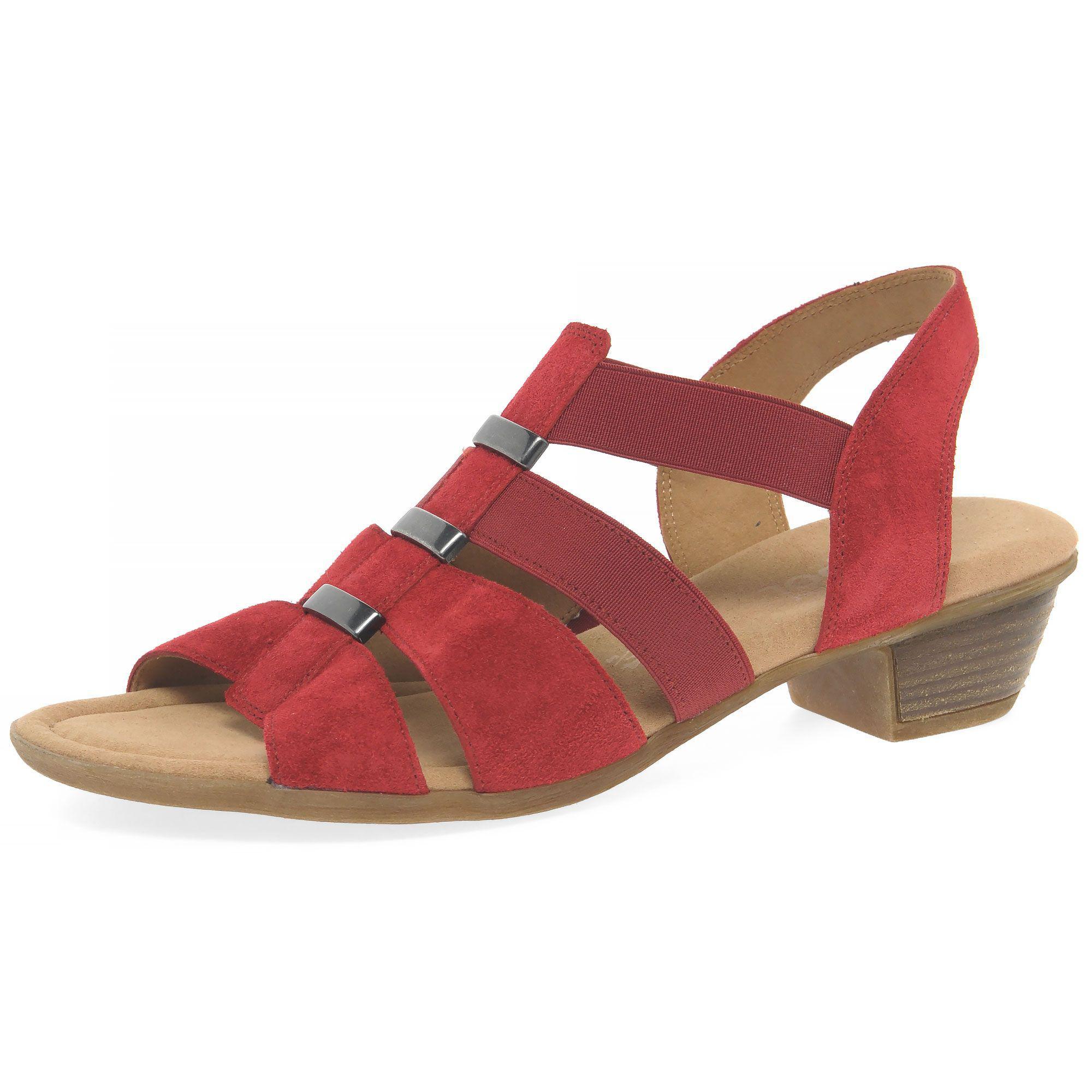 Gabor Joan Wide Fit Block Heeled Sandals Pictures v3wZbM