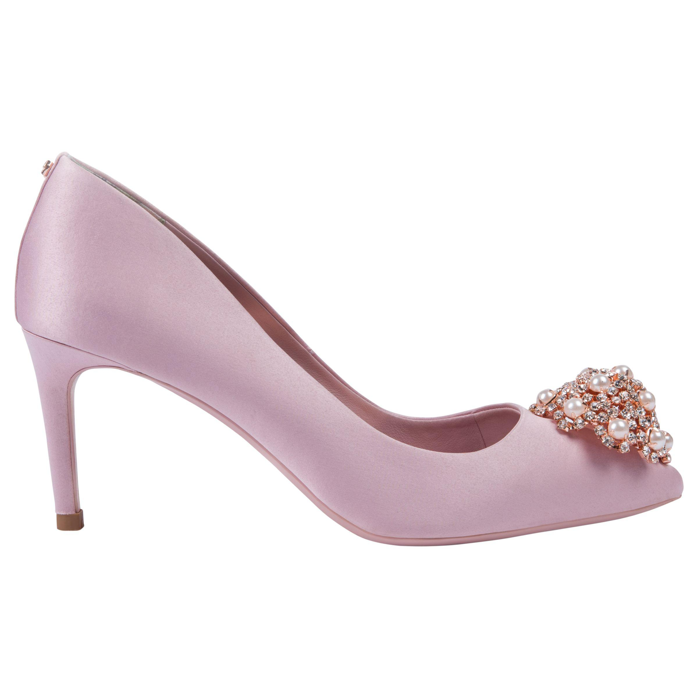 0213ef1b418 Ted Baker Dahrlin Embellished Court Shoes in Pink - Lyst