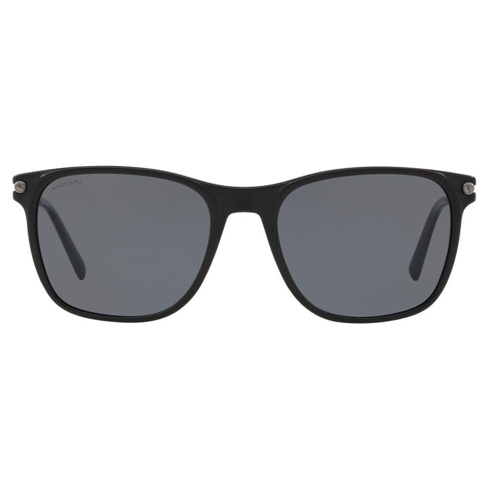 BVLGARI Bv7032 Men's Polarised D-frame Sunglasses for Men