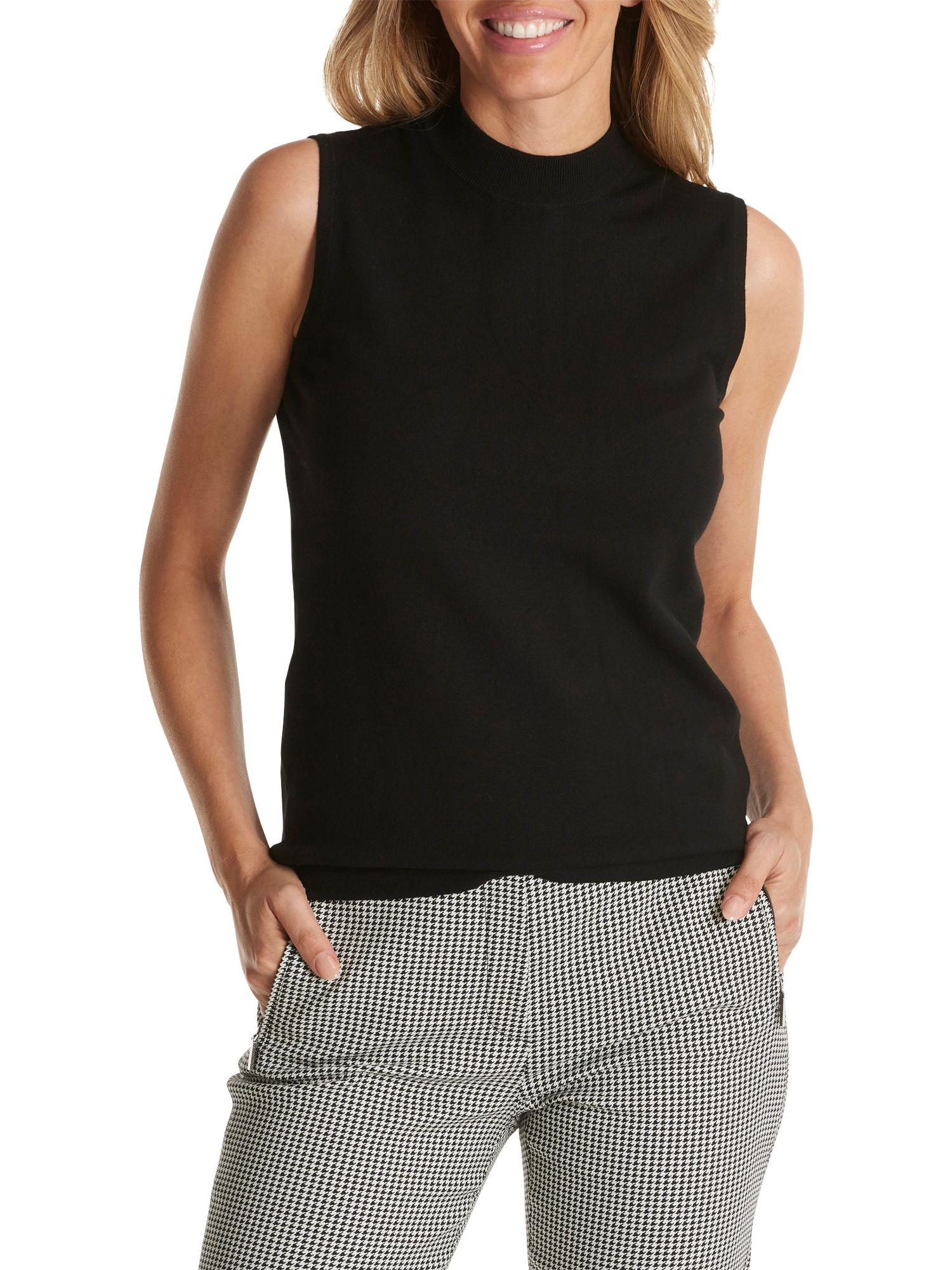Betty Barclay Sleeveless Knitted Top in Black - Lyst c74ff4ab57