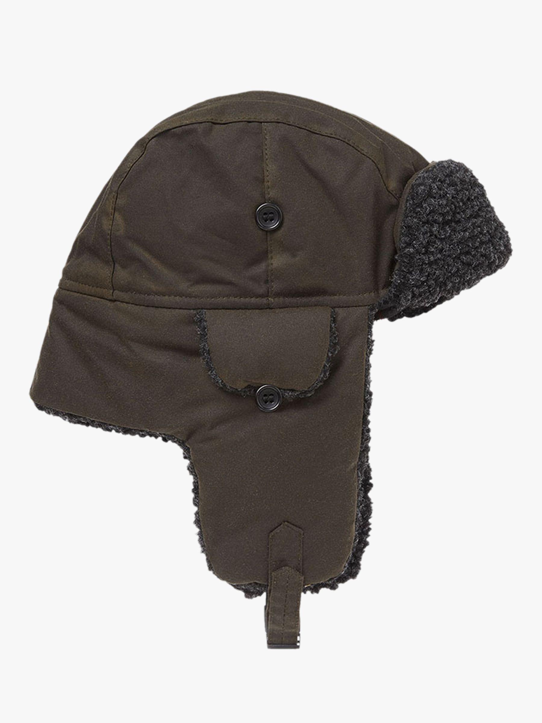 29a10b3bfa8fb Barbour Fleece Lined Trapper Hat in Green for Men - Lyst