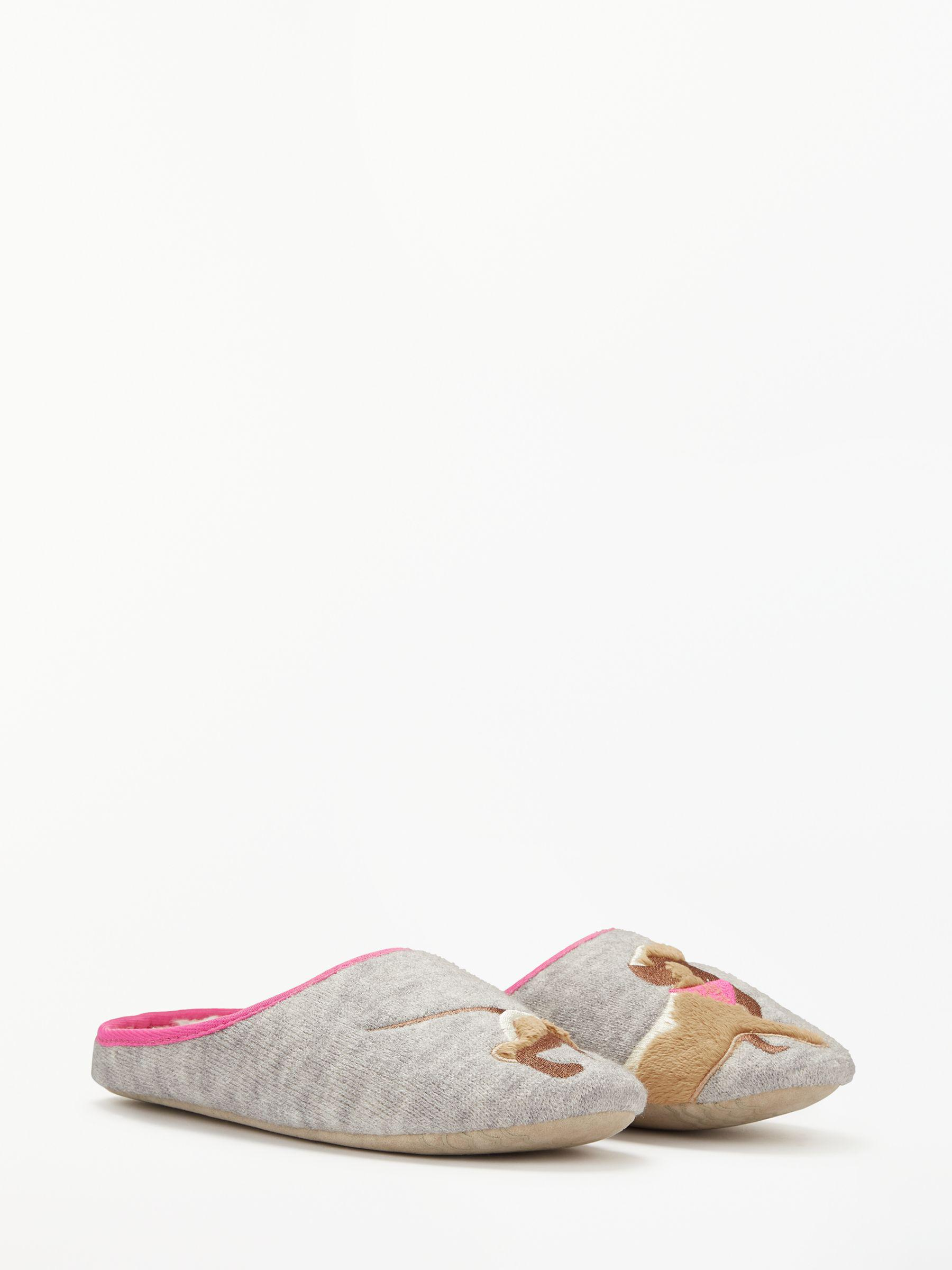 babada1a82d John Lewis Sausage Dog Knit Mule Slippers in Gray - Lyst