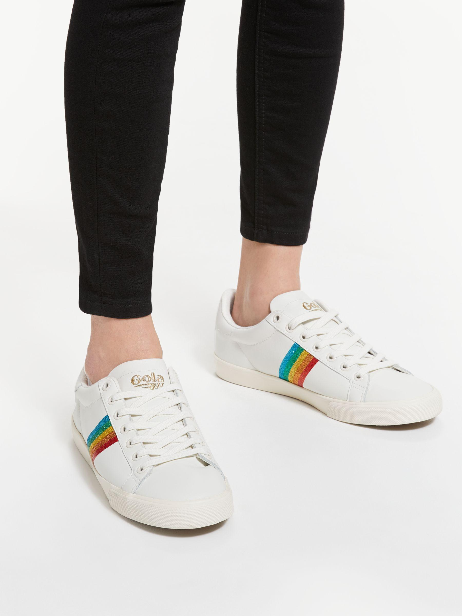 Gola Orchid Rainbow Low Top Trainers in