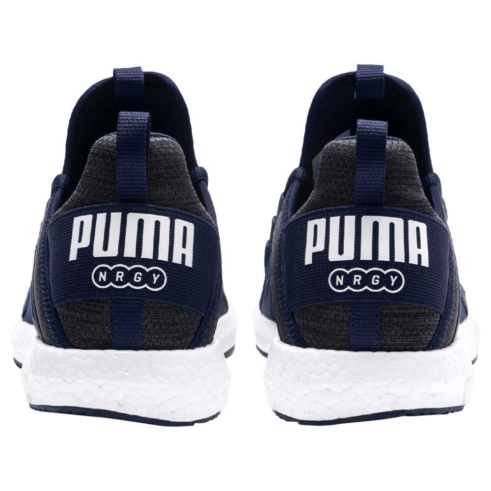 1467b11e213c7e Puma Mega Nrgy Heather Knit Men s Running Shoes in Blue for Men - Lyst